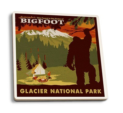 Glacier NP Coaster - Bigfoot in Montana
