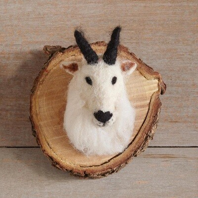 Felt Mountain Goat Small Mounts