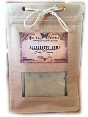 Eucalyptus and Hemp HandMade Soap