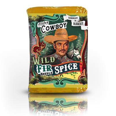 Filthy Cowboy Wild Fir Needle Handmade Soap