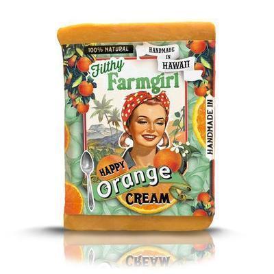 Filthy Farmgirl Happy Orange Cream Handmade Soap