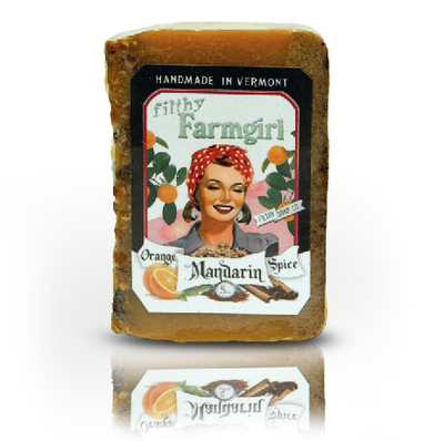 Filthy Farmgirl Orange Mandarin Spice Handmade Soap