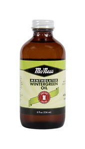 McNess Old Fashioned Mentholated Wintergreen Oil