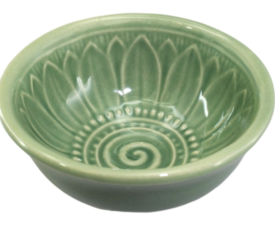 Green inner flower Tea Cup Small