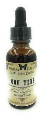 Gou Teng Uncaria Herbal Extract Tincture (Uncaria Rhynchophylla)