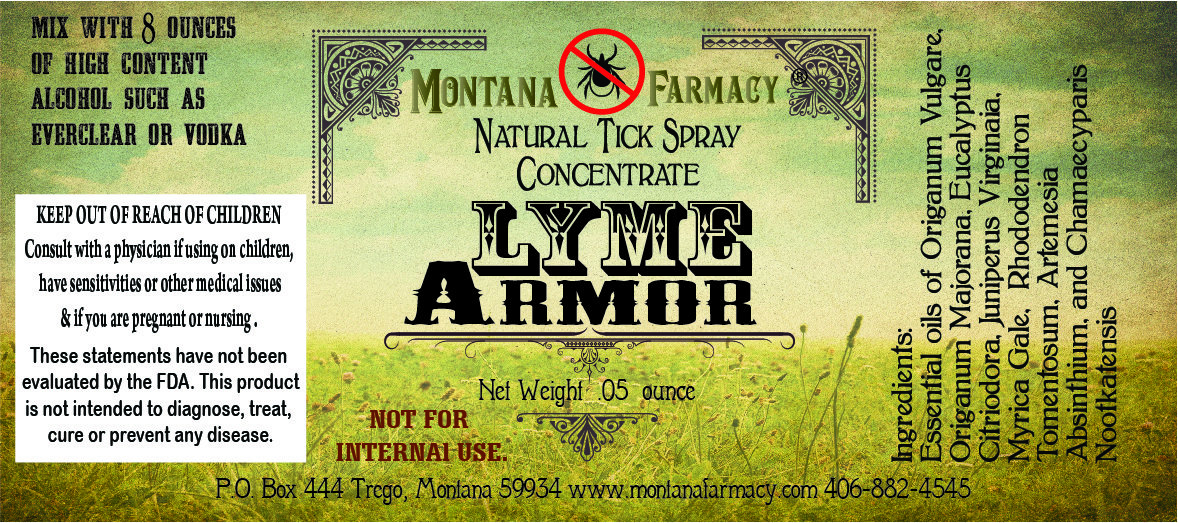 go away  Armor Natural Tick Spray Concentrate