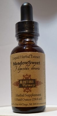Meadowsweet Tincture Natural Extract