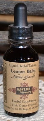 Lemon Balm Natural Extract Herbal Tincture