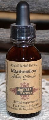 Marshmallow Root  Herbal Tincture from Montana Farmacy