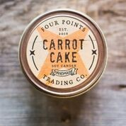 Four Points Trading Co  - Carrot Cake 4 oz Soy Candle