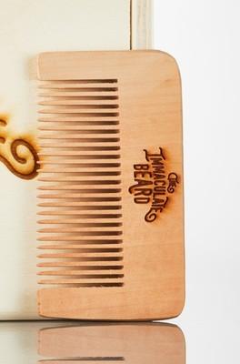 The Immaculate Beard - Wooden Beard Comb