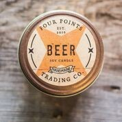 Four Points Trading Co  - Beer 4 oz Soy Candle
