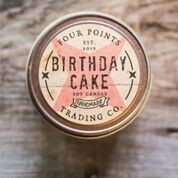 Four Points Trading Co  - Birthday Cake 4 oz Soy Candle