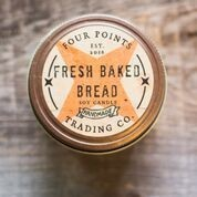 Four Points Trading Co  - Fresh Baked Bread 4 oz Soy Candle