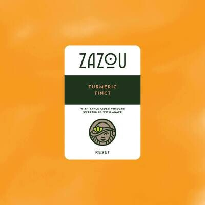 Zazou Iced Tea- Turmeric Tint