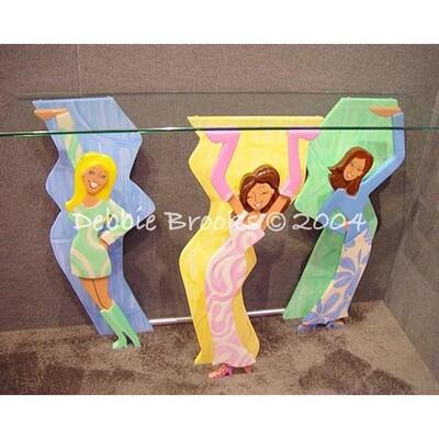 Diva Table Pastel