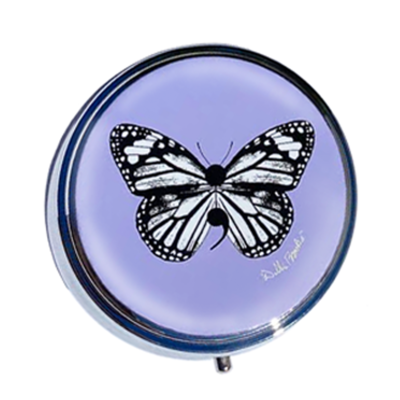 Pill box - Butterfly