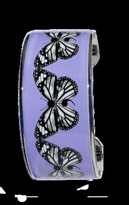Metal Cuff Wide - Butterfly