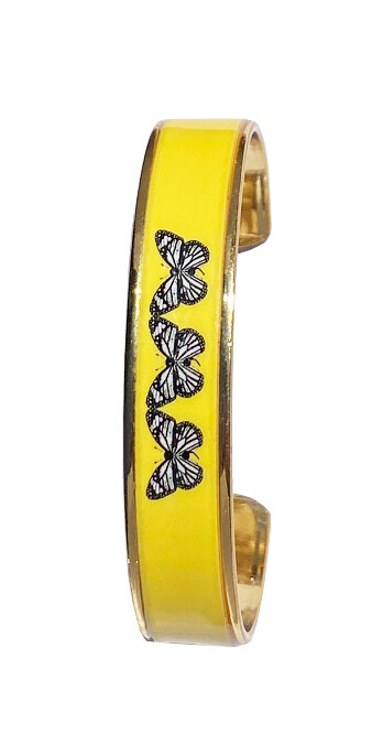 Metal Thin Cuff - Butterfly