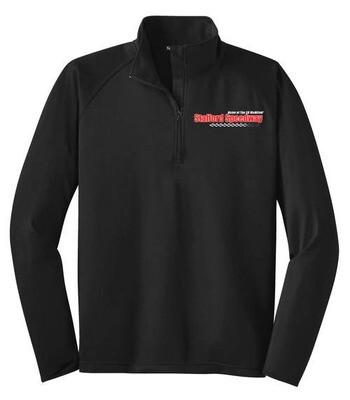 1/4 Zip Pullover - Black