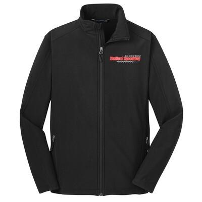 Black Full Zip Coat