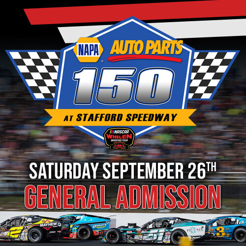 Saturday, September 26th - Whelen Modified Tour - General Admission Tickets