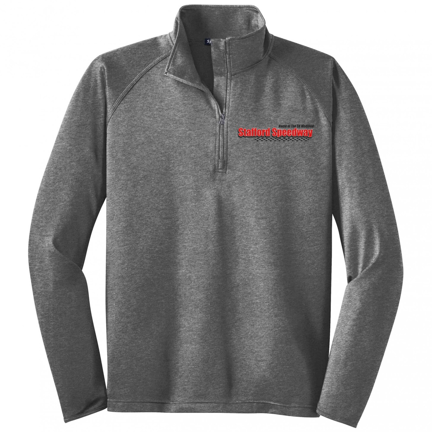 1/4 Zip Pullover - Heather Charcoal