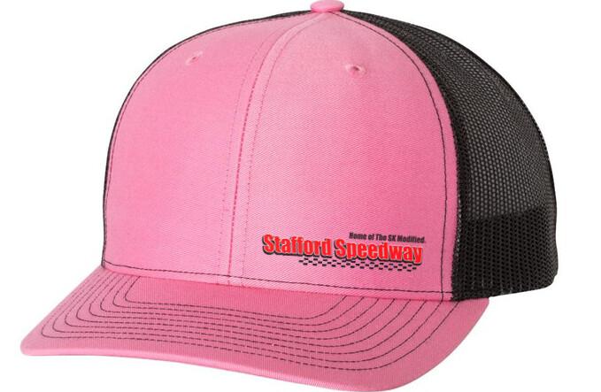 Pink Mesh Hat