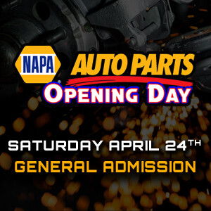 Saturday, April 24th - NAPA Opening Day