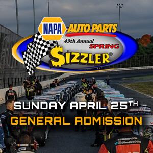 Sunday, April 25th - NAPA Spring Sizzler