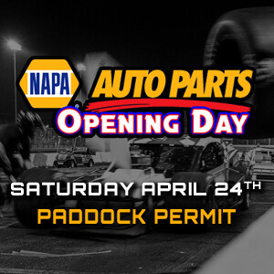 Paddock Pass - Saturday, April 24th - NAPA Opening Day