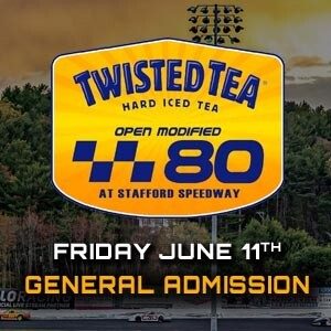 General Admission - Twisted Tea 80 - Friday, June 11th