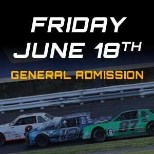General Admission - Friday, June 18th