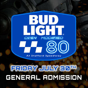General Admission - Bud Light 80 - Friday, July 30th
