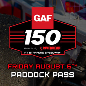 Paddock Pass - Friday, August 6th - GAF Modified Tour 150