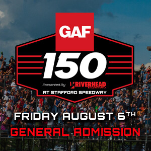 General Admission & Reserved - Friday, August 6th - GAF Modified Tour 150