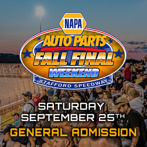 General Admission & Reserved - NAPA Fall Final - Saturday, September 25th