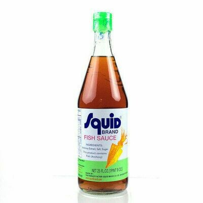 Squid Fish Sauce (25 Oz)