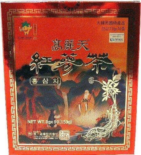 Assi Korea Red Ginseng Tea 50 Bags (5 Oz)