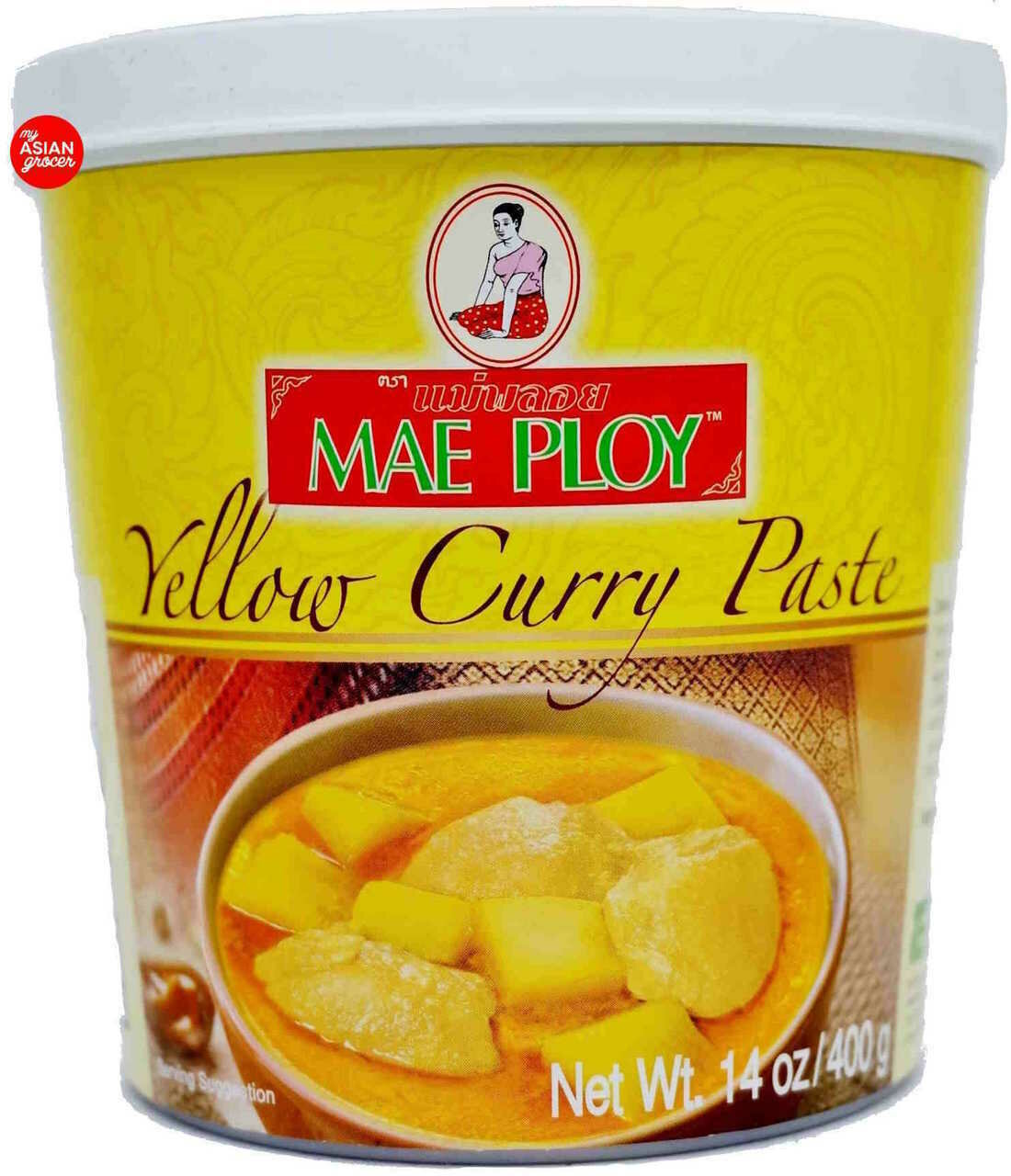 Mae Ploy Yellow Curry Paste (16 Oz)
