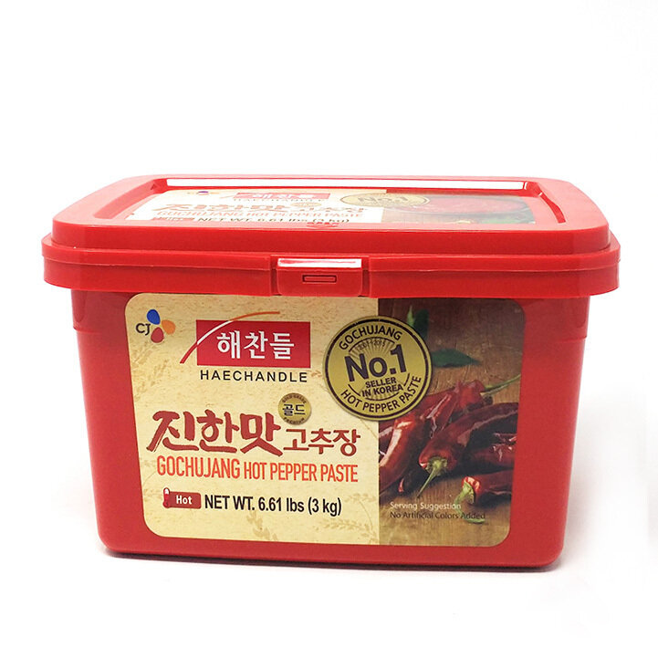 CJ Gochujang Hot Pepper Paste Hot (6.6 LBS)