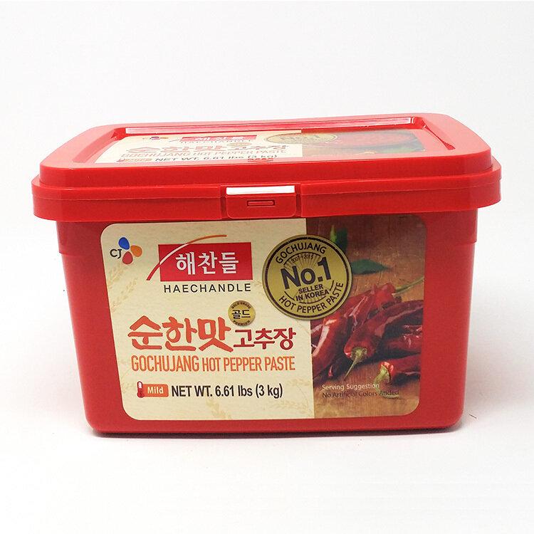 CJ Gochujang Hot Pepper Paste Mild  (6.6 LBS)