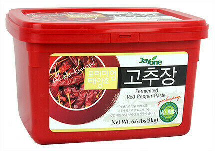 Jayone Fermented Red Pepper Paste (6.6 LBS)