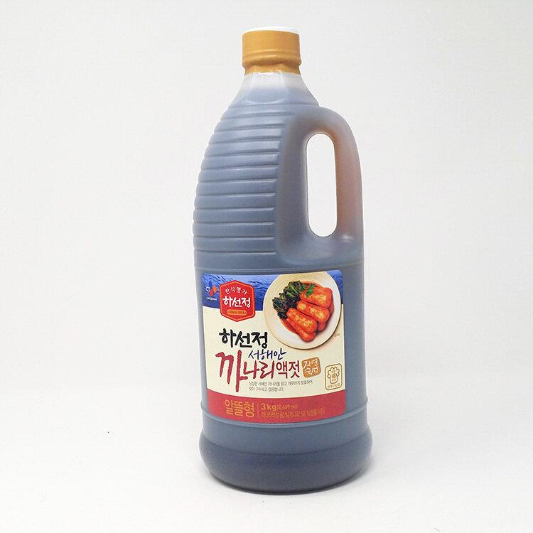 CJ Hasunjung Sand Lance Fish Sauce (6.6 LBS)