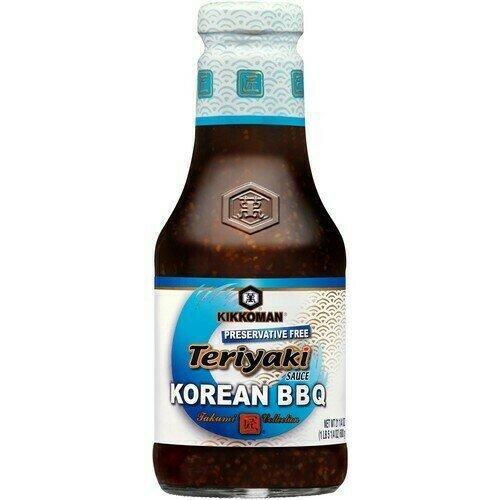 Kikkoman Teriyaki Sauce Korean BBQ (21.25 Oz)