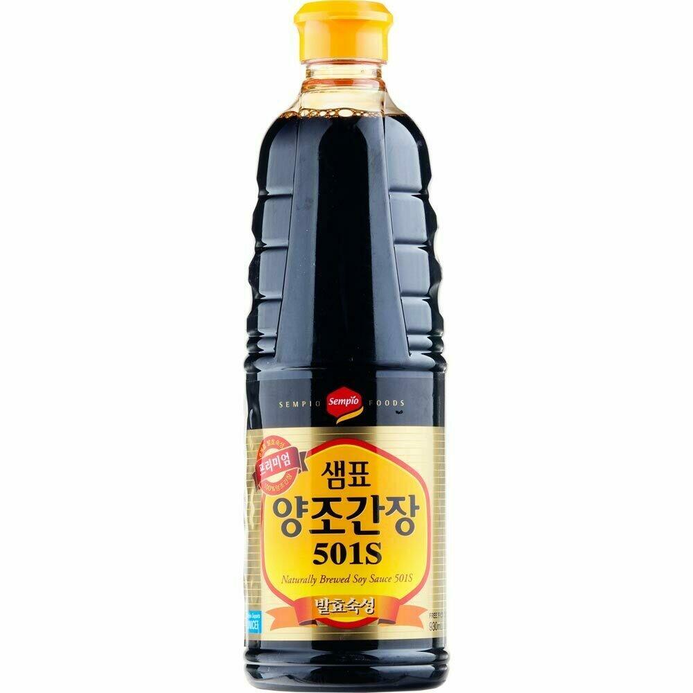 Sempio Naturally Brewed Soy Sauce (31.4 Fl. Oz)