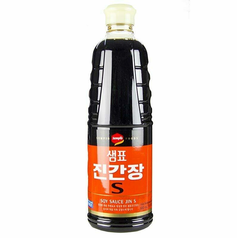 Sempio Soy Sauce Jin S (31.4 Fl. Oz)