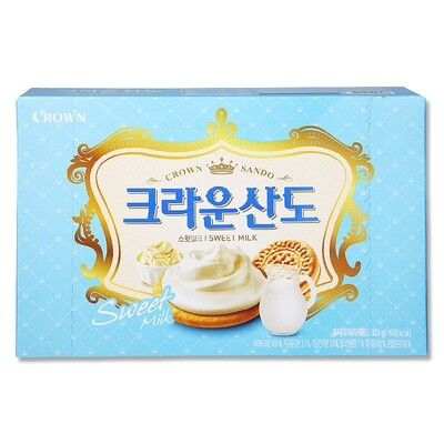 Crown Sando Sweet Milk Biscuit (11.39 Oz)
