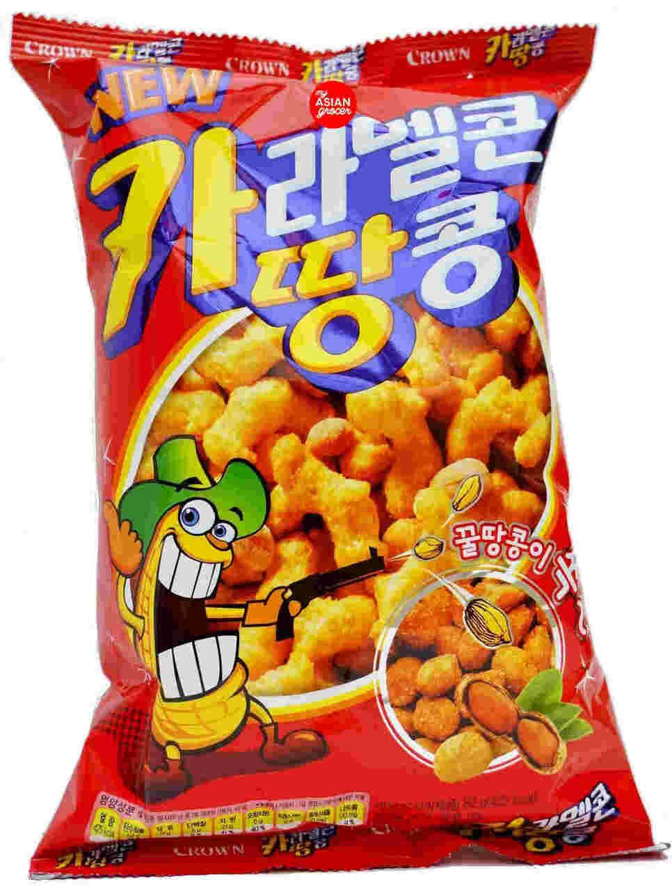 C'Natural Caramel Corns Peanuts Snack (2.89 Oz)