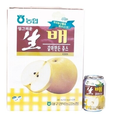 NH Pear Drink with Pulp 12 Cans (8.1 Oz * 12 )